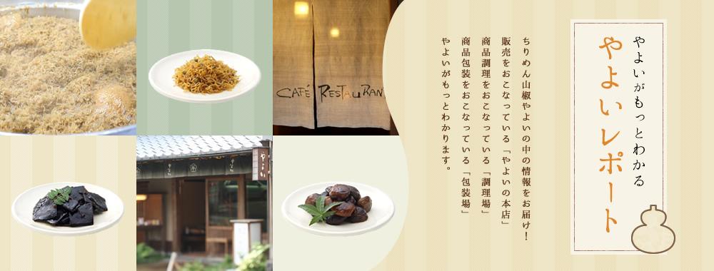 京都祇園ちりめん山椒やよいレポート